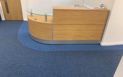 Flooring office refurbishment