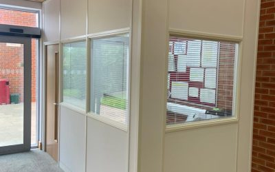 St Georges – stud partitioning project